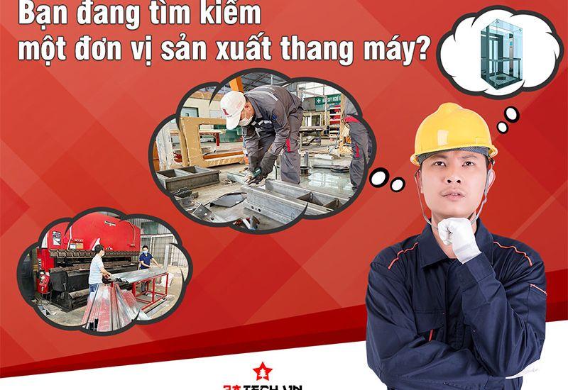 Công ty sản xuất thang máy 3ATECH - Địa chỉ số 1 cho nhu cầu sản xuất thang máy