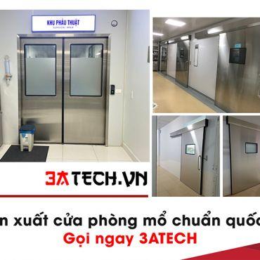 Sản xuất cửa phòng mổ bệnh viện