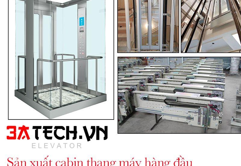 Địa chỉ sản xuất cabin thang máy theo yêu cầu, giá rẻ nhất thị trường