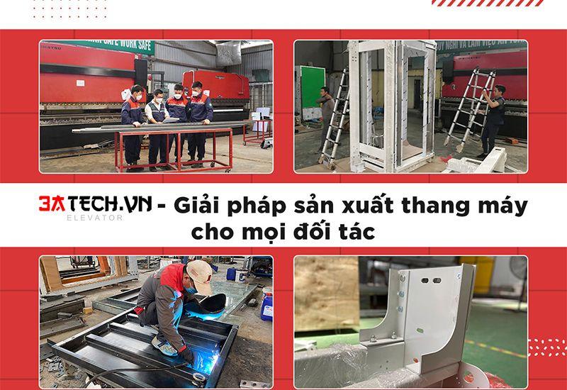 Địa chỉ sản xuất thang máy chuyên nghiệp, uy tín tại Hà Nội: Đến ngay 3ATECH