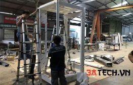 Sản xuất cabin thang máy tiêu chuẩn, đa dạng mẫu mã