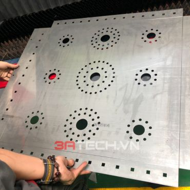 Dịch vụ gia công cắt laser theo yêu cầu của 3ATECH chuyên nghiệp, uy tín