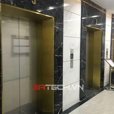 Gia công chấn gập Inox tấm ốp cửa thang máy