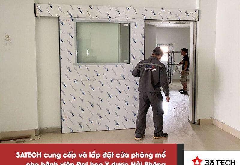 Hơn 10 bộ cửa được 3ATech cung cấp và lắp đặt cho 2 bệnh viện lớn tại Hải Phòng