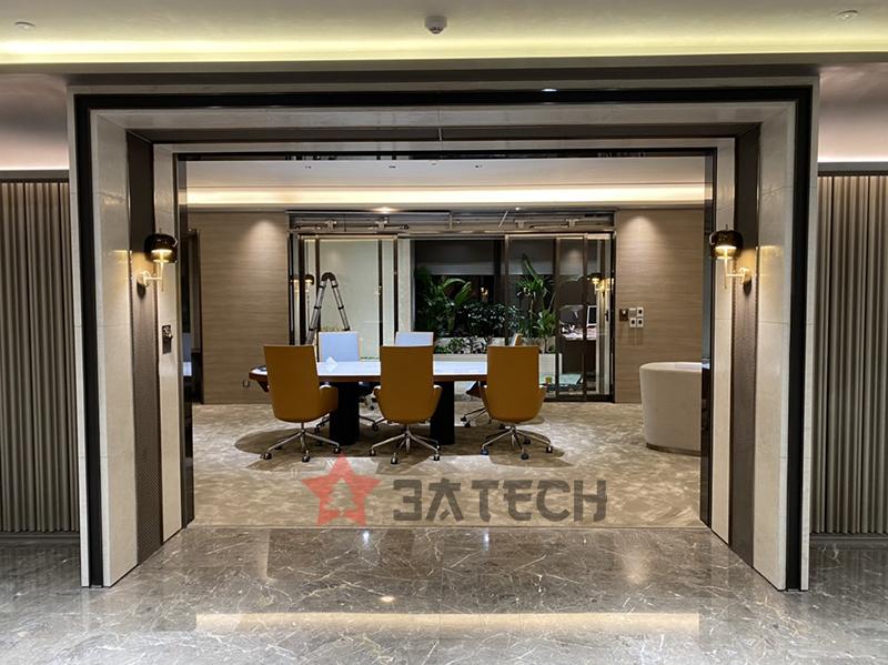 Lắp đặt hệ thống cửa tự động dự án SKT.VN