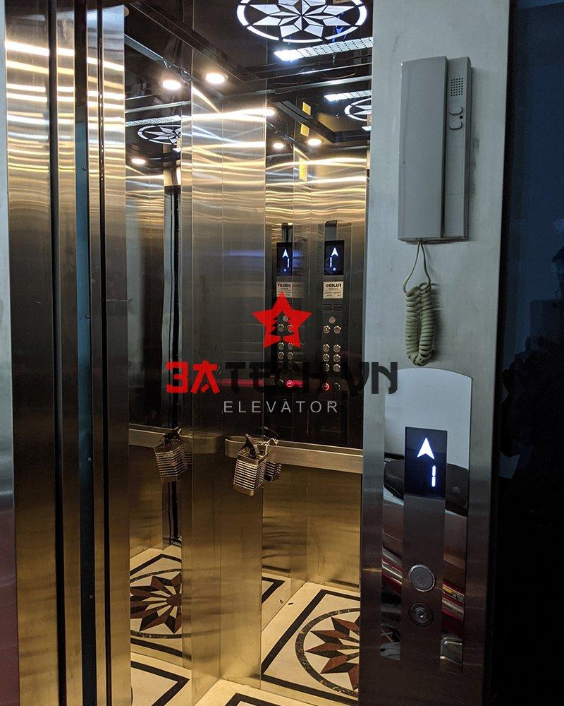 mẫu thang máy gia đình