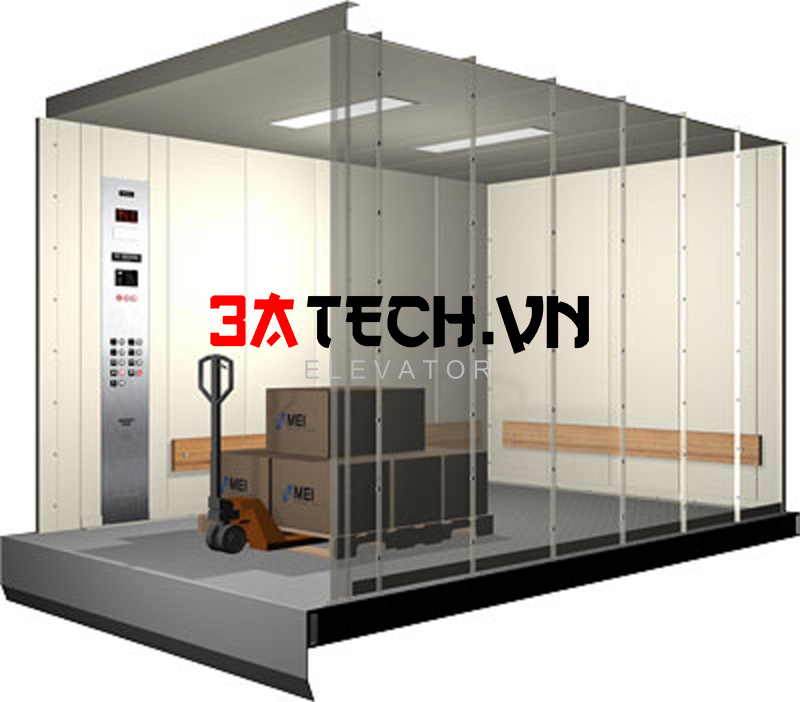 sản xuất thang máy tải hàng
