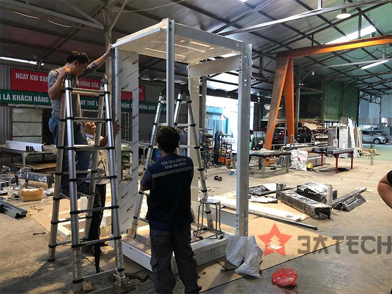 Thiết kế và sản xuất thang máy