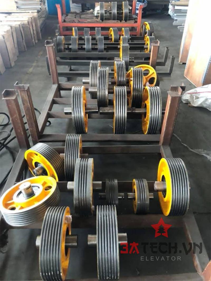 thông số kỹ thuật khi sản xuất thang máy